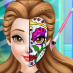 Princess Face Painting Trend